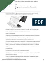 RG 4444-Nuevo Regimen de Facturacion 01-04-2019
