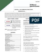 Tarjeta comunicación DC2000