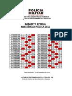 Residência HPM 2019