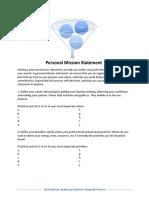 m2- personal mission statement