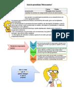 Guía de microcuento