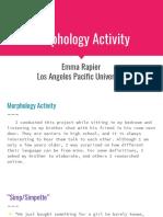 morphology activity-3