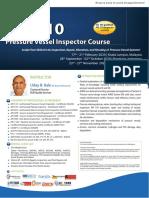 API 510 Course Malaysia 2020