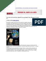 Novo livro de David Icke, disponivel em português_ Raça Humana, Levantese! (1)