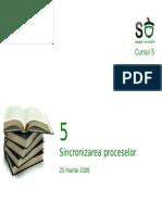 05.Sincronizarea proceselor