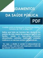 FUNDAMENTOS DE SAÚDE PÚBLICA 1