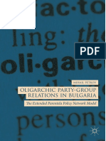 Mihail Petkov - Oligarchic Party-Group Relations in Bulgaria_ the Extended Parentela Policy Network Model-Springer International Publishing_Palgrave Macmillan (2019)
