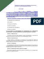 Ley que regula el Procedimiento No Contencioso de la Separación Convencional y Divorcio Ulterior en las Municipalidades y Notarías