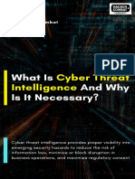 Cyber Threat Intelligence Why is It So Important 1575038621