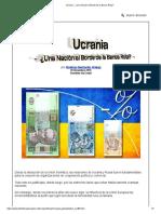 Ucrania - ¿Una Nación al Borde de la Banca Rota_