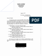 Letters released to defense attorneys of defendants through discovery
