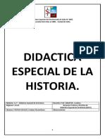 Didactica Especial de la Historia - Teoría y Prácticos