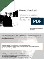 Daniel Libeskind PPT