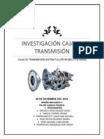Trabajo de Investigacion de Caja de Transmision