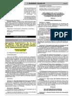 Ley 28612 - Ley Que Norma El Uso, Adquisicion y Adecuacion Del Sw en La AP