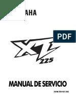 Manual de Servicio Xt225