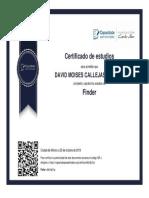 DIPLOMA DE FINDER