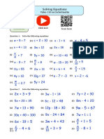 Equations PDF