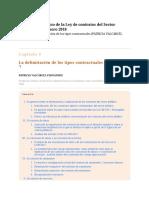 La Delimitación de Los Tipos Contractuales.