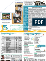 Boletim Dominical Nº 911 – Ano XV – João Pessoa, 06 de Janeiro de 2018