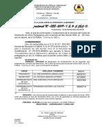 R.D.  Nº 055 ( C. HORAS 2020 )