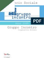 Cooperativa Gruppo Incontro - Bilancio Sociale by reteSviluppo