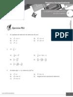 Cuadernillo 9 Ejercitación álgebra II