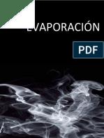 Práctica de Evaporador de Simple Efecto