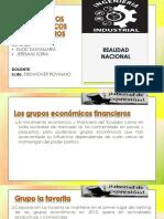 GRUPOS ECONÓMICOS FINANCIEROS