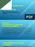 Comprensión y producción de textos académicos 001 profundización