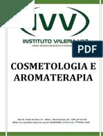APOSTILA COSMETOLOGIA E AROMATERAPIA 2019