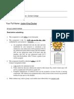 biol 1700 - assignment111111111