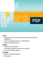 Service Marketing of Banking Financial Institution