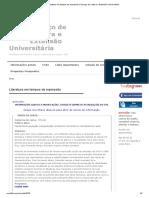Literatura em tempos de repressão _ Serviço de Cultura e Extensão Universitária