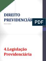4p Legislacao Previdenciaria Professor