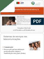 comunicação empresarial -presencial e telefónica