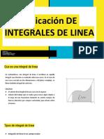 Aplicación de Integrales de Linea (1)