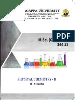3_ M_Sc_ (Chemistry) - 344 23 - Physical Chemistry II