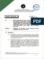 Buget Circular No. 2019 6
