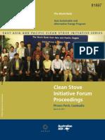 Clean Stove Initiative 2013