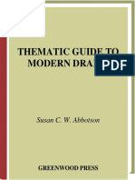 ABBOTSON, Susan C. Thematic guide to modern drama. Greenwood Press, 2003.pdf