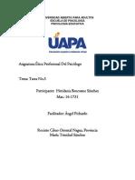 Tarea 5 Etica Profesionl Del Psicologico Heridania (1)