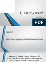 EL PRECONTRATO TGC