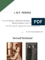 Eesti fotograafid Parikased