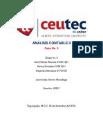 Tarea grupal 9.2 Analisis Contable II