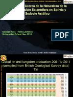 Revisiones Acerca de La Naturaleza de Sn en Bolivia y SE Asiatico 13oct2014 (1)