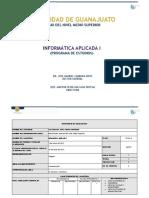 PROGRAMA DE INFORMÁTICA APLICADA