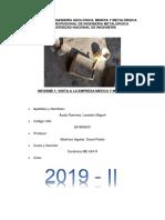 Informe Fundición LEANDRO