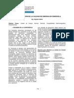 Normalizacion de La Calidad de Energia en Venezuela (Resumen)