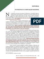Editorial - o Contexto Político e a Educação Nacional_1678-4626-Es-37-135-00329